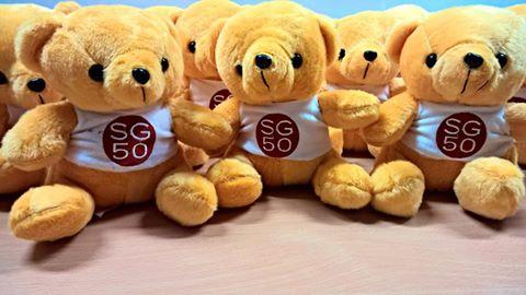 SG50 bear
